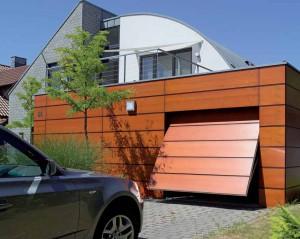 Поворотные ворота Hormann
