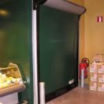 Скоростные ворота Dynaco D313 LF с полотном из ПВХ