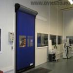 Автоматические рулонные ворота Dynaco D313 LF Cleanroom