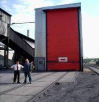 высокоскоростные рулонные ворота Dynaco М3