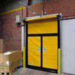 Автоматические рулонные скоростные ворота Dynaco