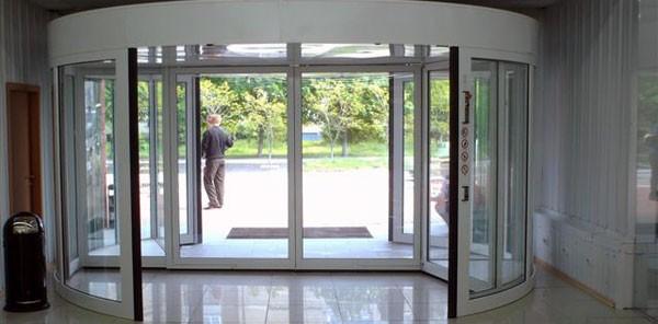 Карусельная дверь ремонт